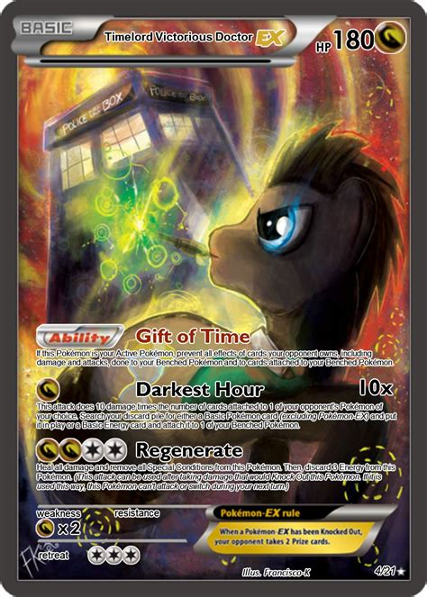 how to make a ex card timelord doctor ex card by the ketchi