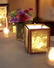 centerpiece images how to make photo centerpieces with candles