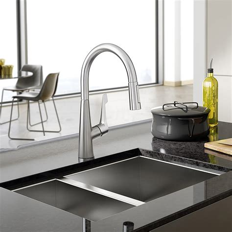 hansgrohe kitchen faucets hansgrohe talis m pull kitchen faucet ebay