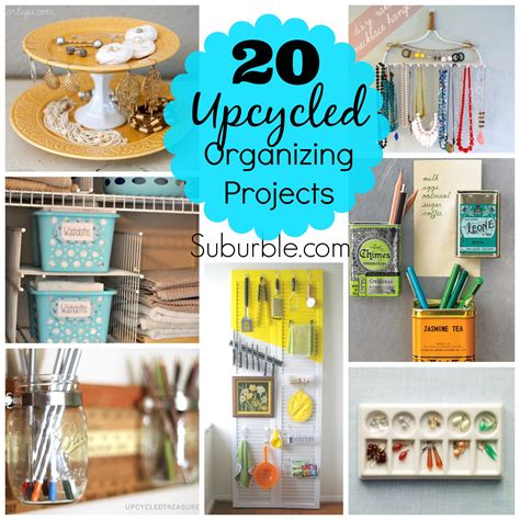 upcycled craft projects 20 awesome upcycled organizing projects suburble