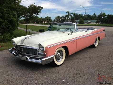 1956 Chrysler For Sale by 1956 Chrysler New Yorker Base 5 8l Convertible