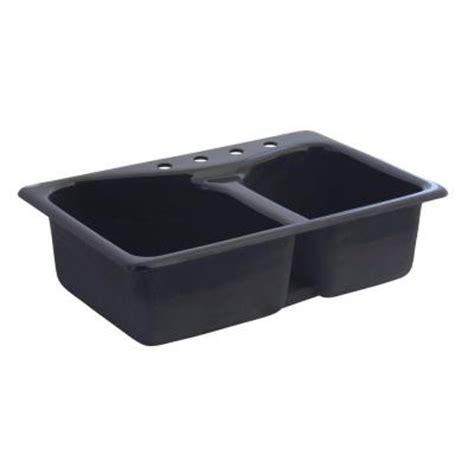american standard cast iron kitchen sinks american standard top mount cast iron 33x22x9 75 4