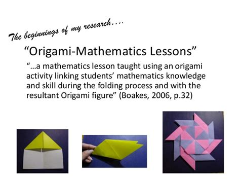 My Origami Journey From Classroom To