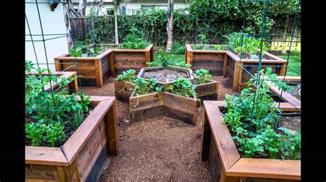 [Garden Ideas] raised vegetable garden bed   YouTube