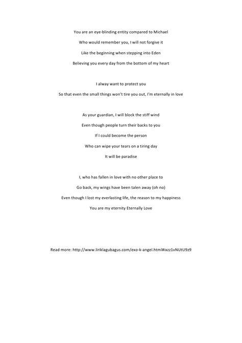 lirik lagu lirik lagu exo