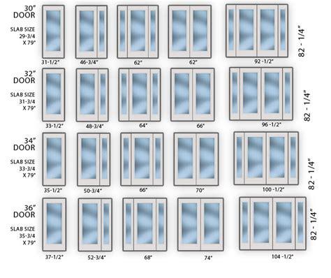 exterior doors sizes exterior door size chart door bevrani