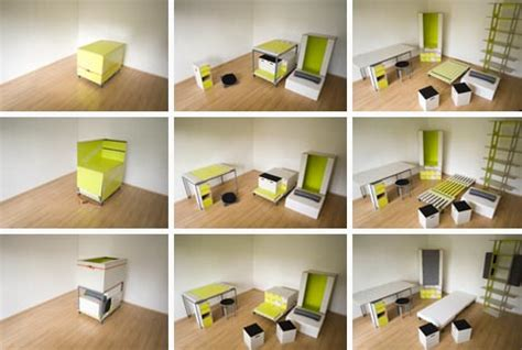 box bedroom designs room in a box transforming fold out furniture design
