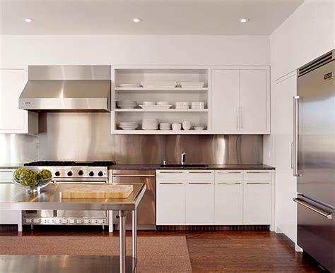 stainless steel kitchen backsplashes inspiration from kitchens with stainless steel backsplashes