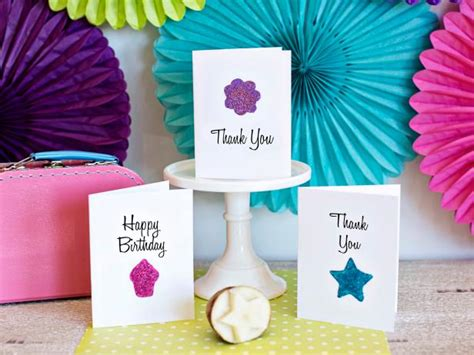 birthday cards to make at home how to use a potato to make greeting cards how tos diy