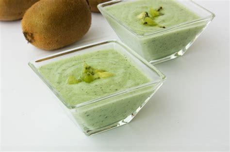recette cr 232 me au kiwi recettes maroc