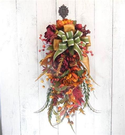 how to make a swag for front door 25 unique door swag ideas on swag shop