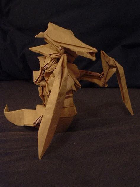 origami hydralisk origami hydralisk world of warcraft photo mmosite