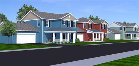 Family Floor Plans housing development
