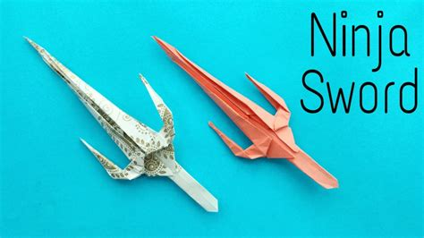 how to make a origami weapons free coloring pages how to make a paper quot sword
