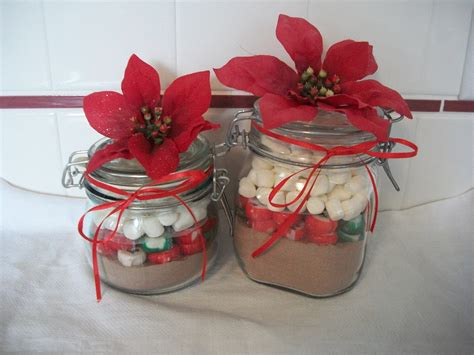 craft gift ideas for gift craft cocoa jars