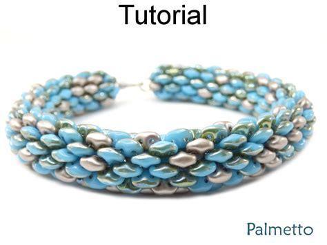 superduo bead patterns beading tutorial pattern superduo tubular bracelet