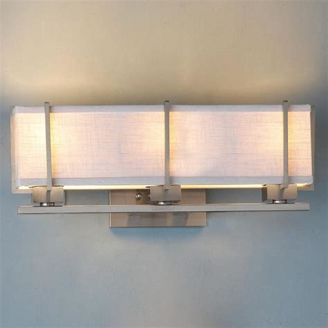 bathroom light shade energy linen box shade bath vanity light l