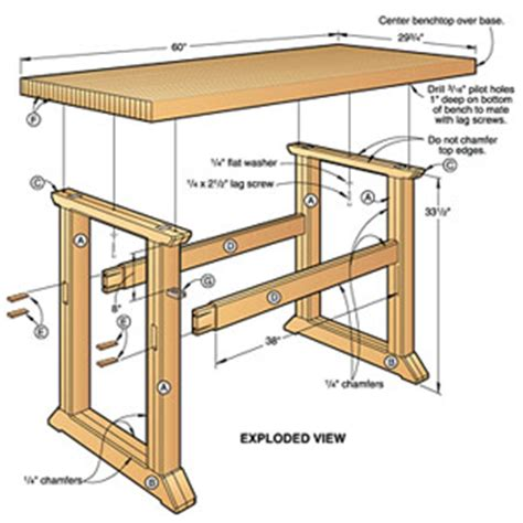 free woodworking plans workbench woodwork workbench plans to build pdf plans