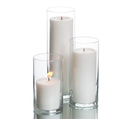 Candle Cylinders eastland cylinders richland pillar candles set of 3