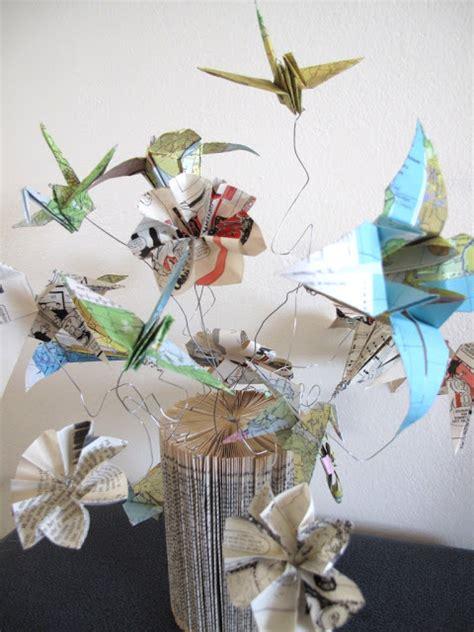 origami flower arrangements simple intrigue an origami flower arrangement