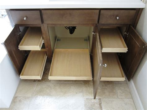 bathroom cabinet pull out shelves bathroom cabinet pull out shelves by slideoutshelvesllc