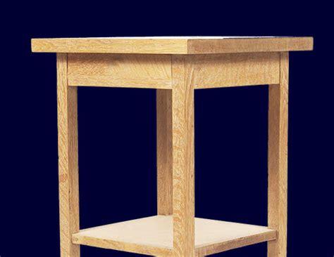 intermediate woodworking projects bedside table