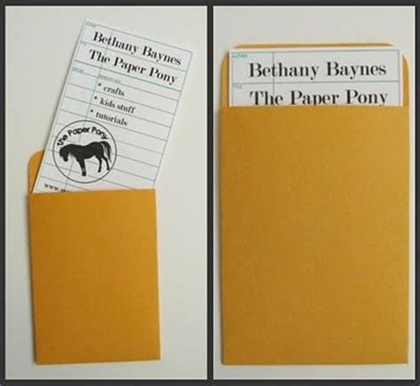 make your own library card the paper pony vintage library book card projects