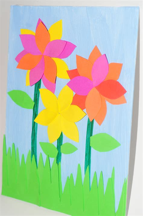 flower arts and crafts for mothers day flower biblezon