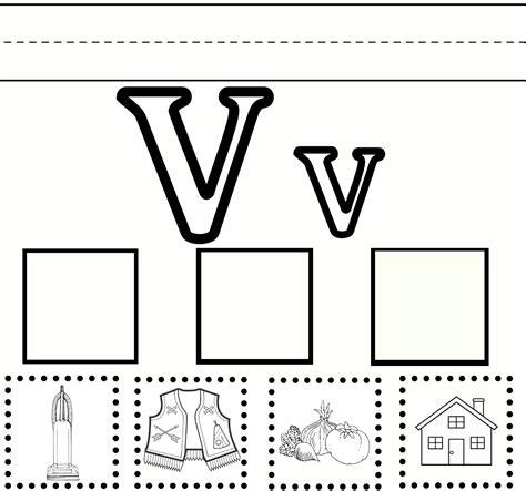 for printables letter v worksheets to print activity shelter