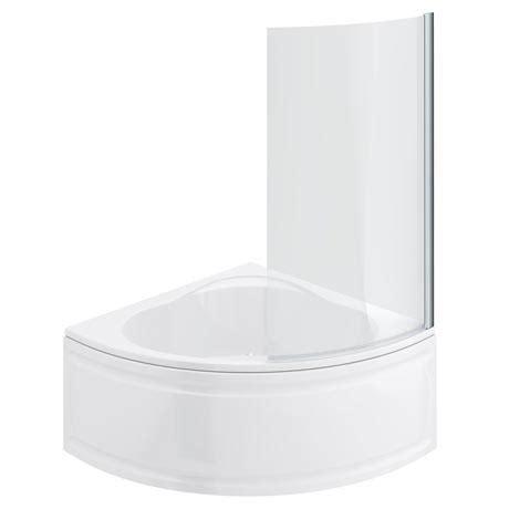 bath shower panels laguna corner shower bath with screen panel