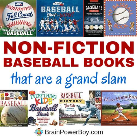 baseball picture books non fiction baseball books that are a grand slam