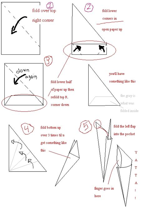 how to make origami finger claws opposite corners photos opposite corners images ravepad