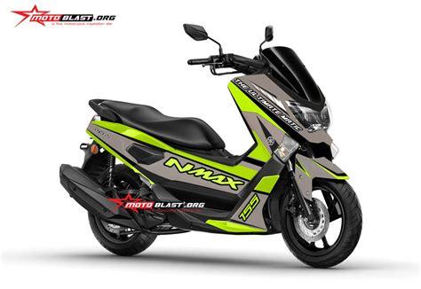 Modifikasi Matic Yamaha by Modifikasi Motor Matic Terbaru Yamaha Nmax Gun Metal