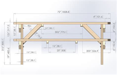 free picnic table plans design for octagon picnic table woodworking projects