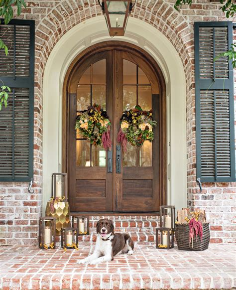 barn front door 5 tips for fall front door flower wreaths with pottery