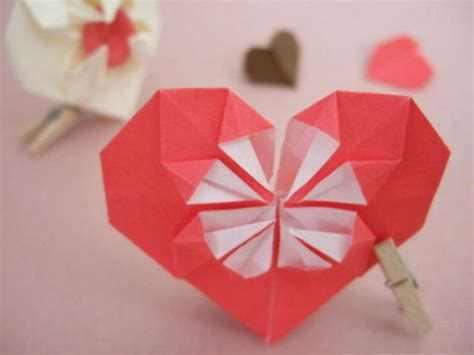 3d hearts origami 35 exciting origami artworks tutorialchip