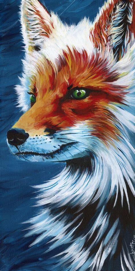25 Best Ideas About Fox Painting On