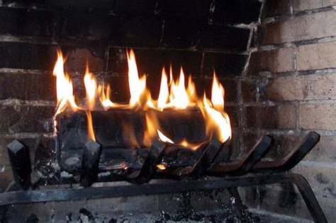 clean burning fireplace how to
