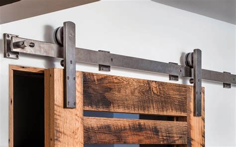 barn door track and hardware barn door track trk100 rocky mountain hardware