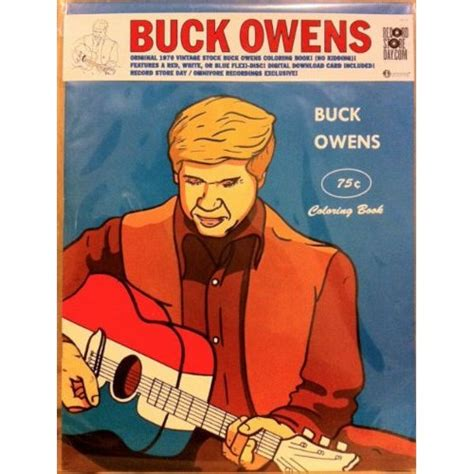 a picture book of owens buck owens coloring book ep rsd