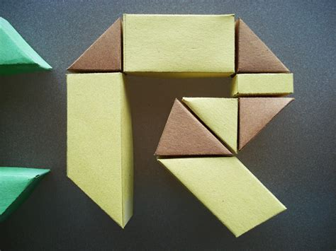 origami letter s origami letter forms on origami letters and