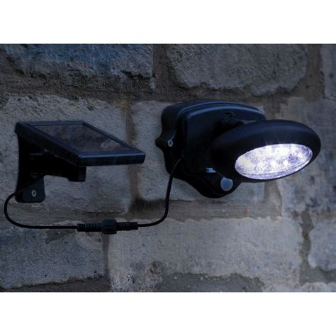 solar motion activated security light solar powered motion activated security light buy