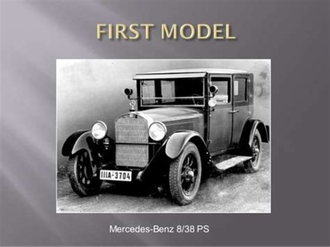 When Was Mercedes Founded mercedes marketing stp