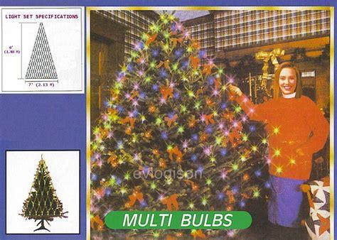 tree light net 6 triangle shaped net tree 150 multi lights
