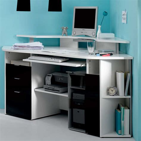 home office furniture computer desk white corner computer desk home office