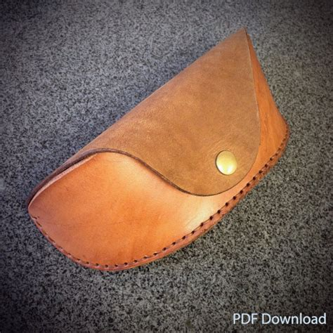 craft for pdf pattern leathercraft pdf pattern for leather glasses
