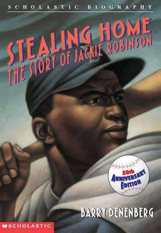 jackie robinson picture book stealing home the story of jackie robinson by barry