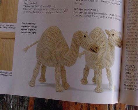free camel knitting pattern knitographical february 2012