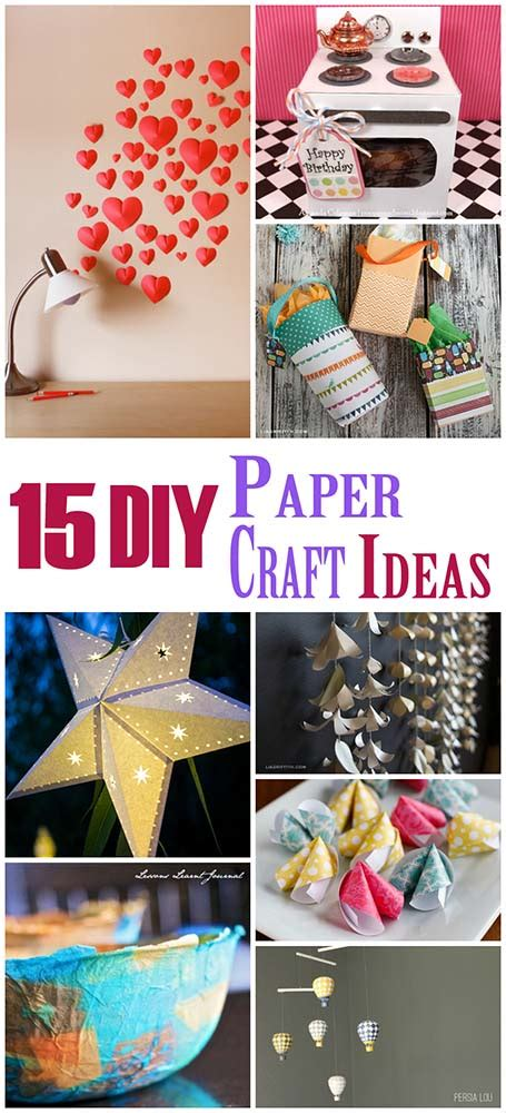 diy craft paper 15 diy paper craft ideas the craftiest