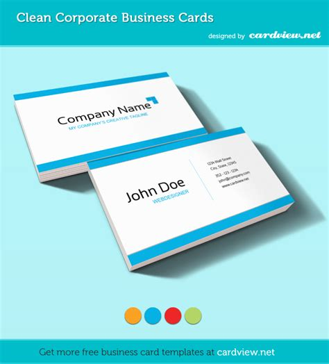 how to make a free business card free corporate business card psd template psd box
